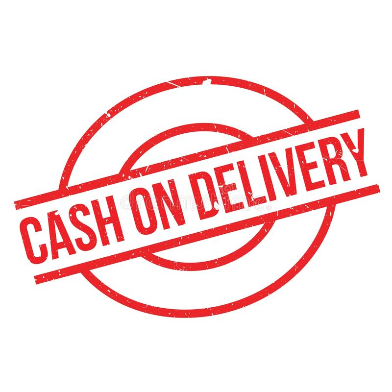 Cash On Delivery Rubber Stamp Stock Vector - Illustration ...