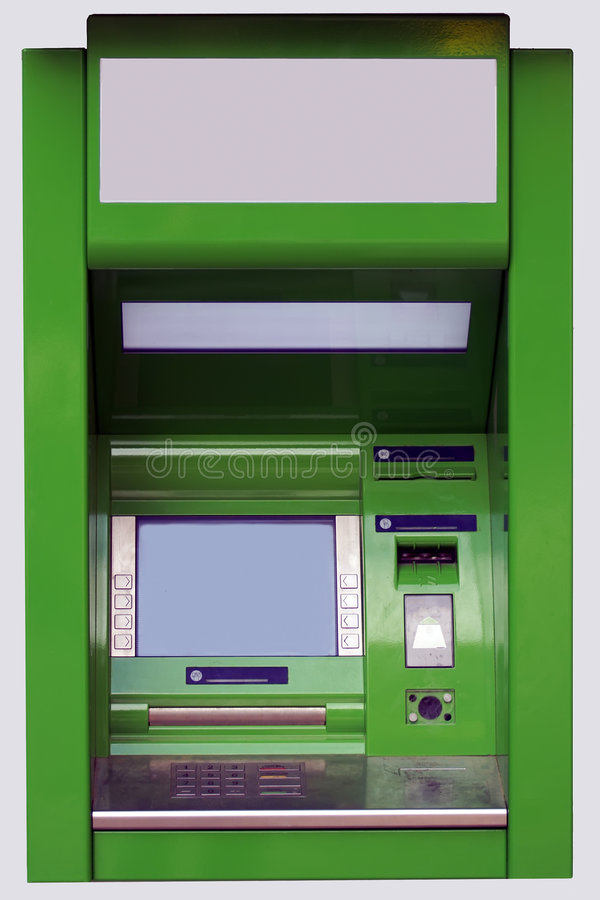 The cash dispense