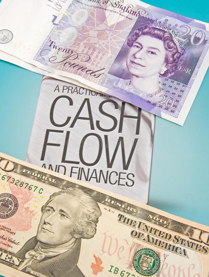 Cash flow. royalty free stock image