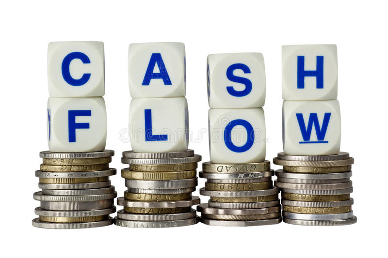 Cash flow stock afbeeldingen