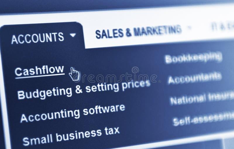 Cash flow stock afbeeldingen