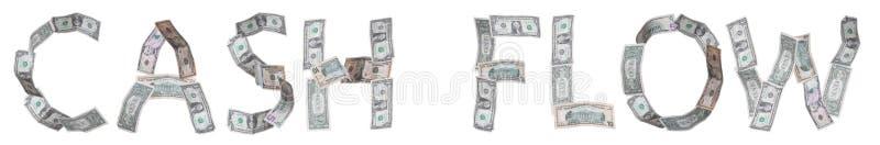 Cash flow royalty free illustration