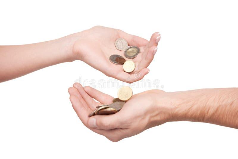 Cash flow. royalty-vrije stock foto
