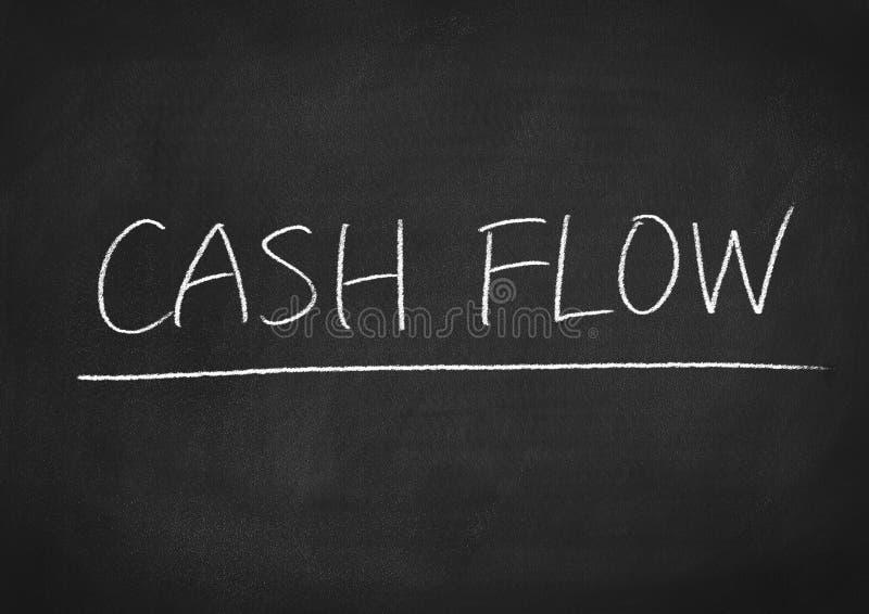 Cash flow stock foto