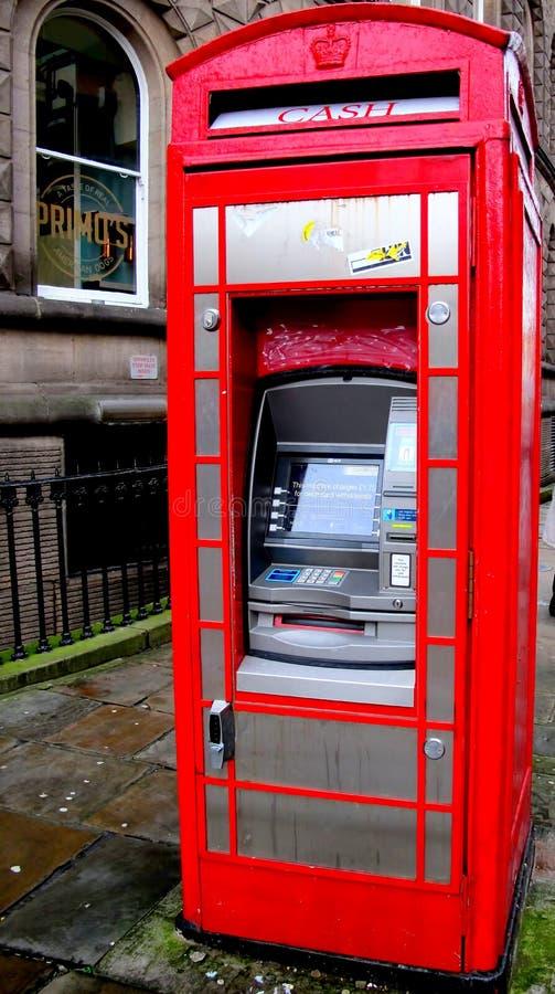 Cash Machine. stock images