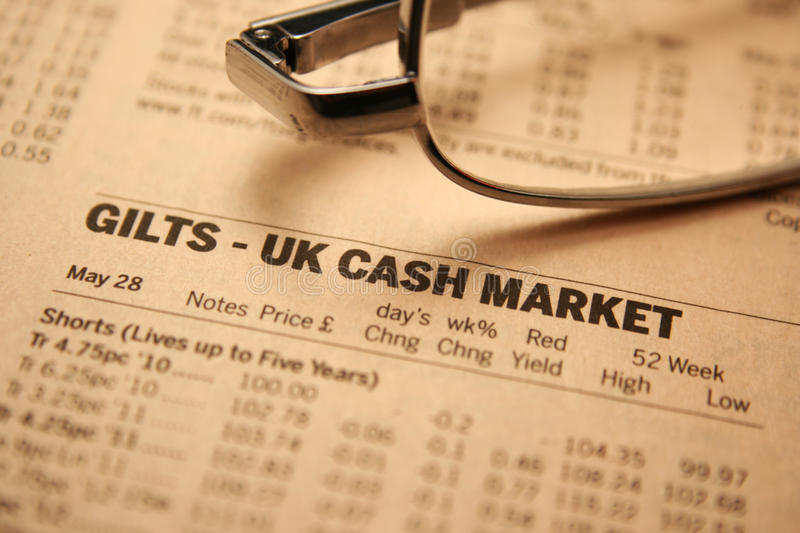 Cash markets stock photos