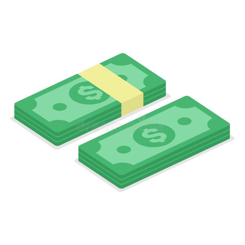 Cash money icon. vector illustration