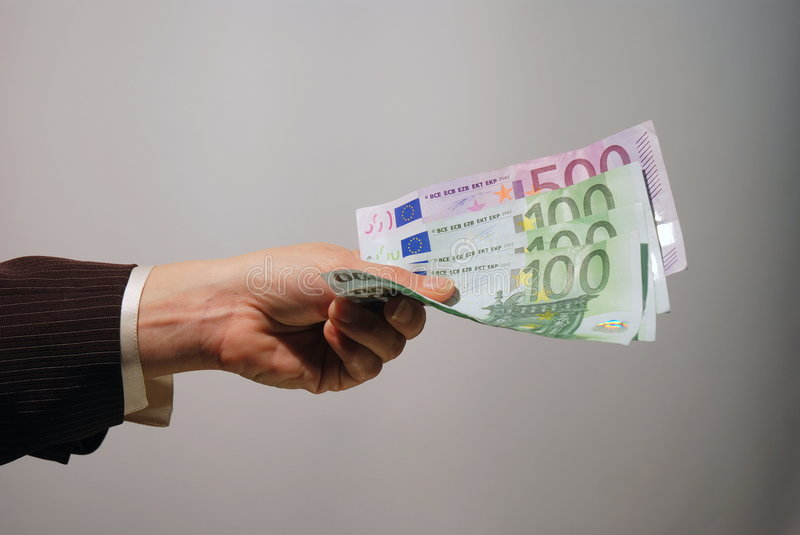 Download Cash payment stock image. Image of banknote, hand, finger - 3985553