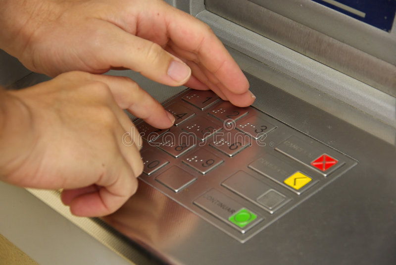 Cash point 01 royalty free stock images