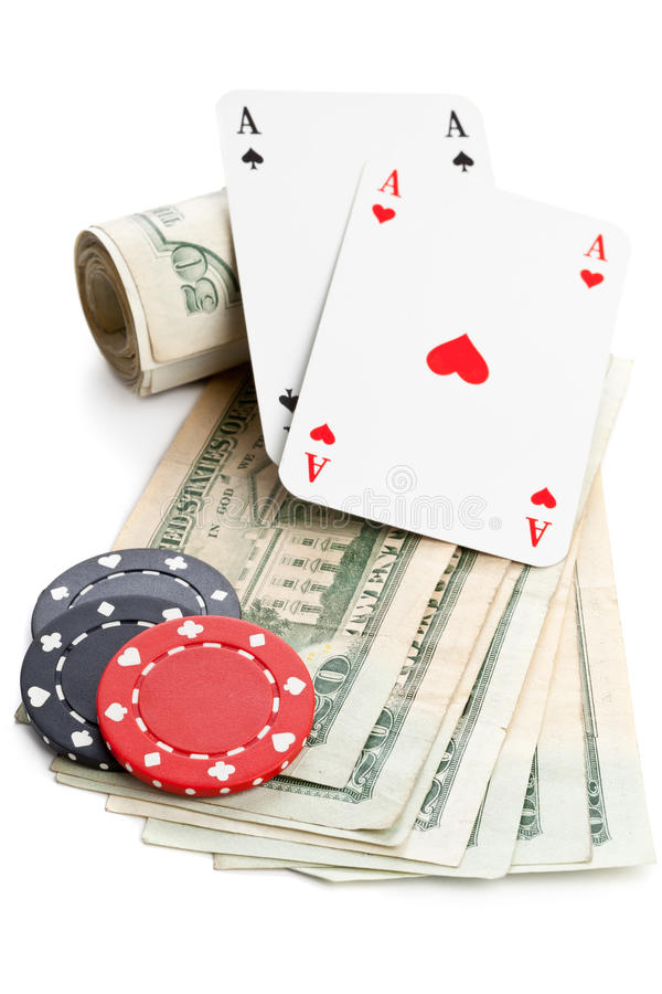 Download Cash poker stock image. Image of chance, dollar, spade - 36379379