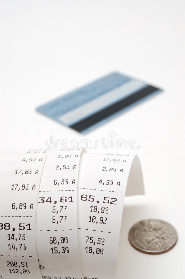 Free Cash Receipt Royalty Free Stock Images - 9466409