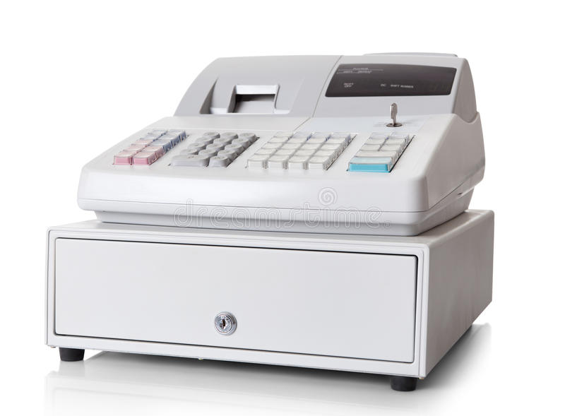 Download Cash register stock image. Image of modern, isolated - 25418537