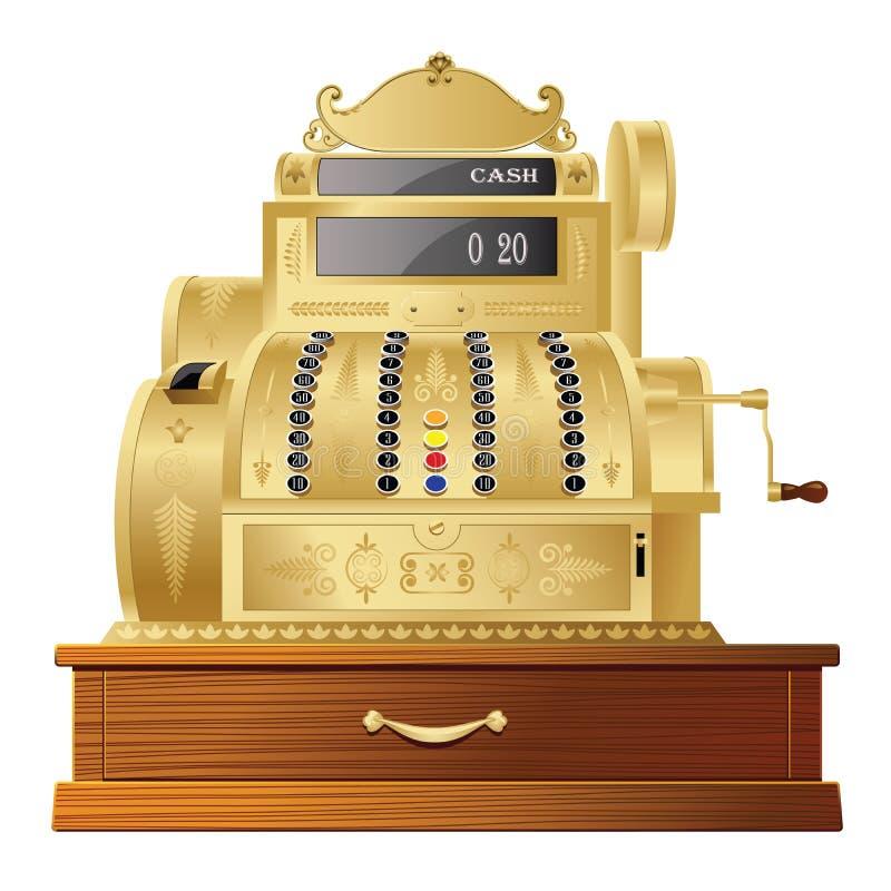 Download Cash register stock illustration. Image of fashioned - 27151553
