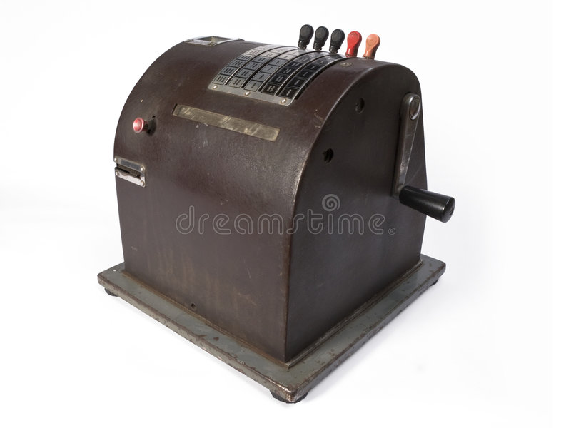 Download Cash register stock photo. Image of antique, machine, antiquity - 4346550