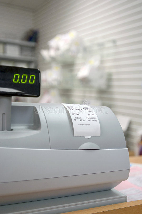 Free Cash Register Royalty Free Stock Images - 77309