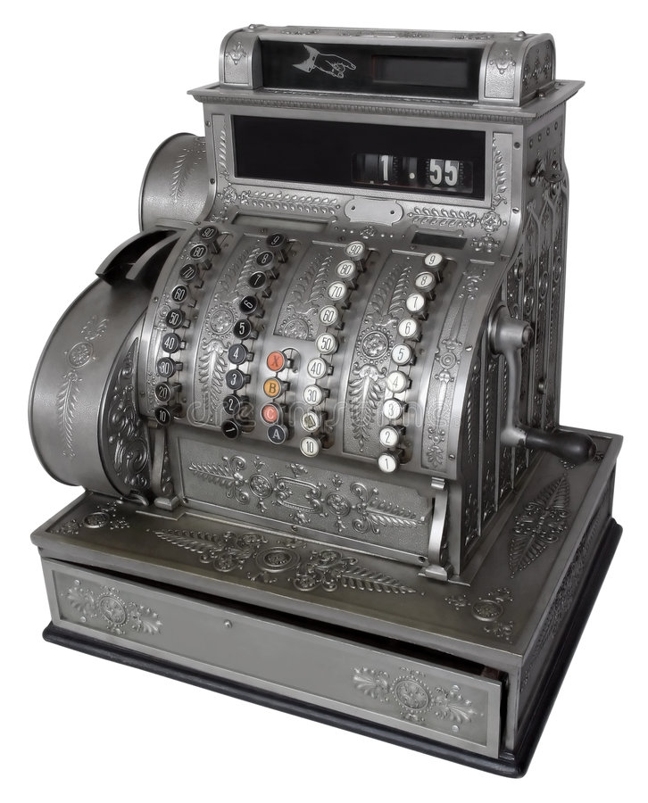 Free Cash Register Royalty Free Stock Images - 7887759