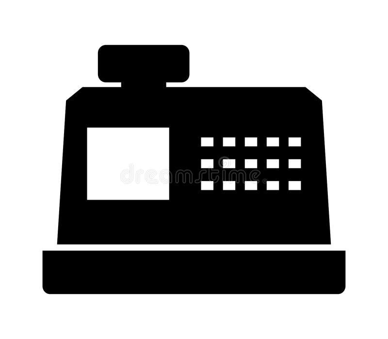 Cash register icon royalty free illustration