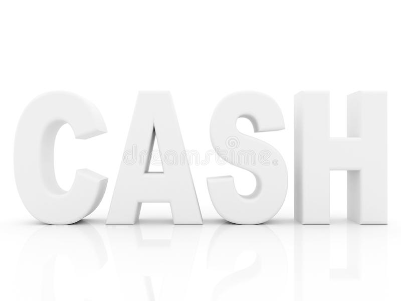 Download Cash word stock illustration. Image of rendered, text - 12531373