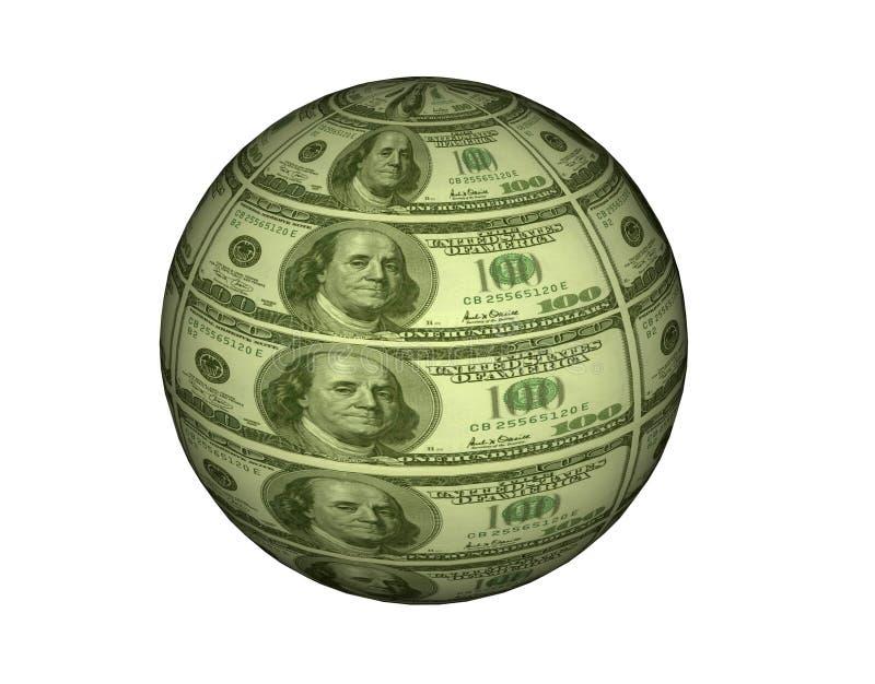 CashBall ilustração stock