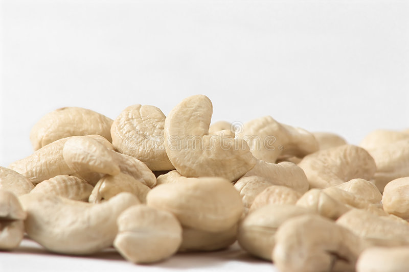 Cashew nuts royalty free stock images