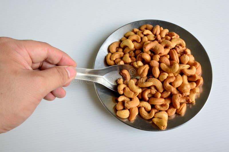 cashews στοκ εικόνες με δικαίωμα ελεύθερης χρήσης