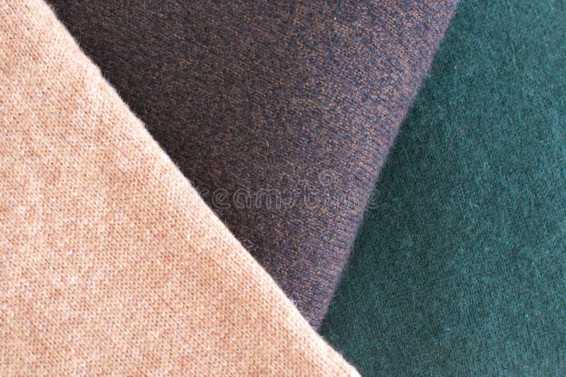 Cashmere. Close up of Fine Cashmere Textile stock images
