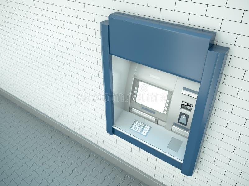 Cashpoint vector illustratie