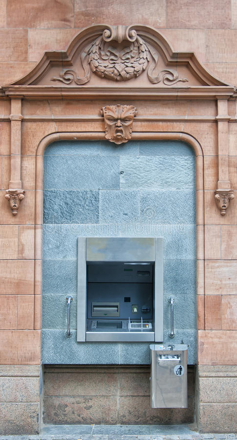 Cashpoint Maschine lizenzfreie stockfotografie