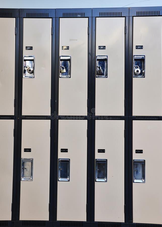 casiers image libre de droits