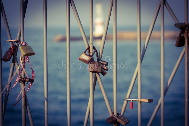 Casiers d'amour photos stock