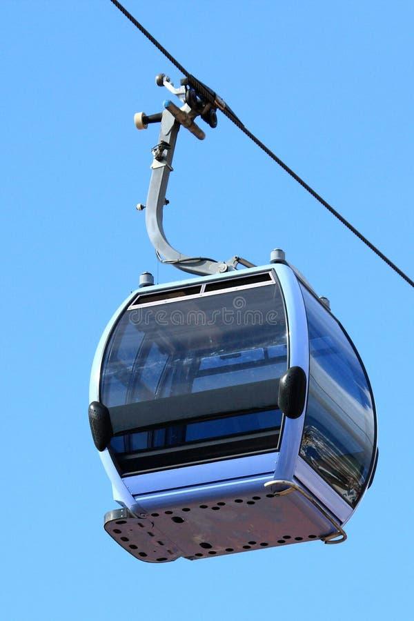 Casilla aérea de la tranvía foto de archivo libre de regalías
