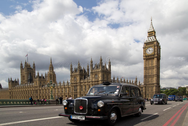 Casillas negras de Londres imagen de archivo libre de regalías