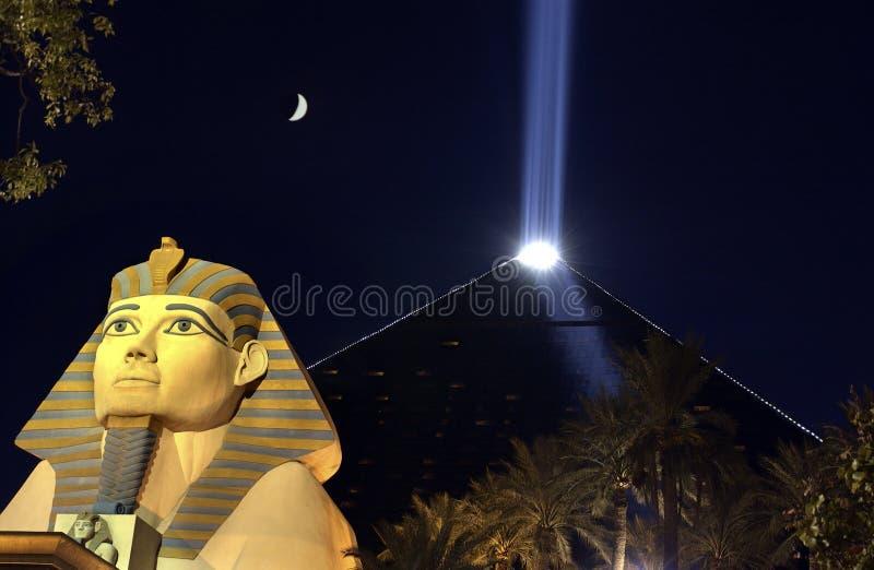 Casinò di Luxor - Las Vegas - Nevada - S.U.A. fotografie stock