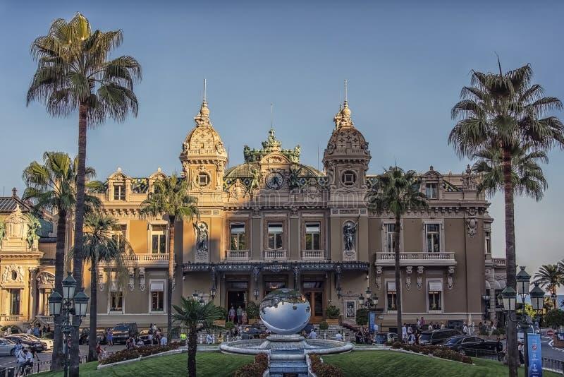 Casinò di Monte Carlo di giorno fotografie stock