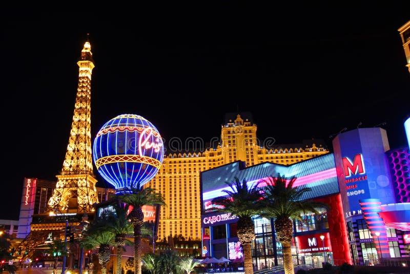 Casinò di Parigi Las Vegas fotografia stock