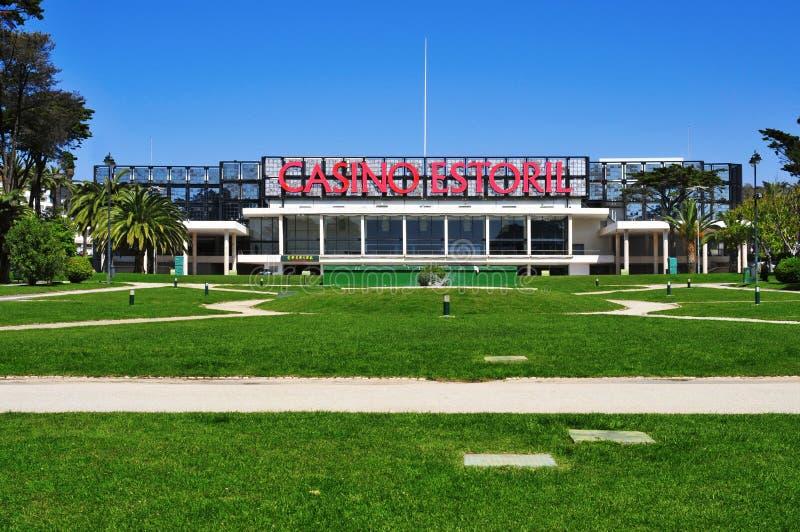 Casinò Estoril a Estoril, Portogallo immagini stock