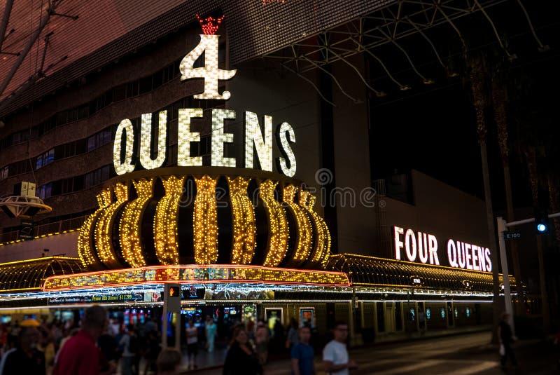 Casinò Las Vegas del Queens 4 immagine stock
