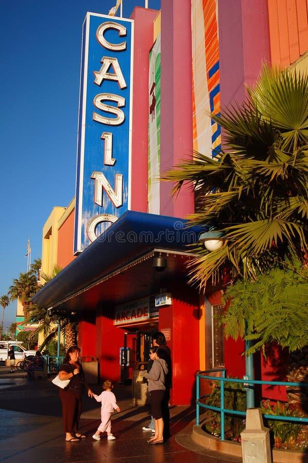 Casinò, Santa Cruz fotografia stock libera da diritti