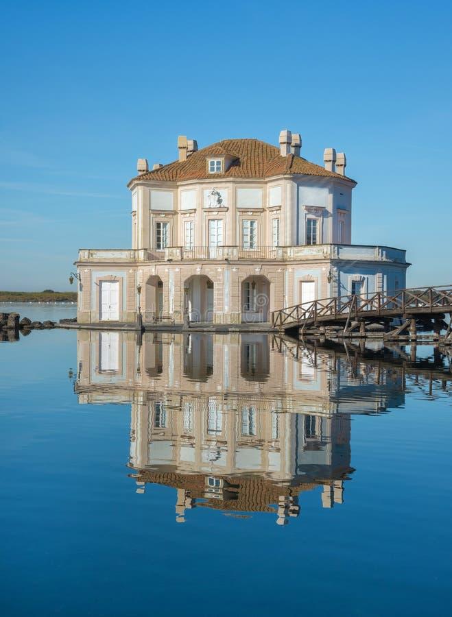 Casina Vanvitelliana - Bacoli, Napoli imagen de archivo libre de regalías