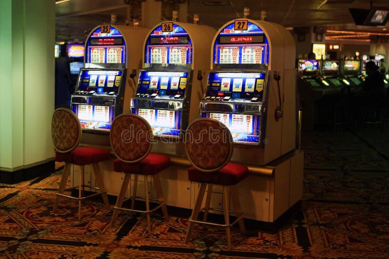 Casino à l'attente image libre de droits