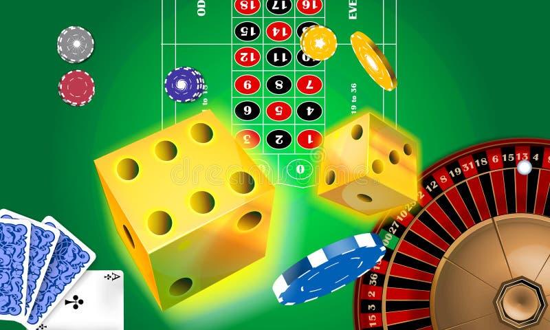 Casino ilustração do vetor