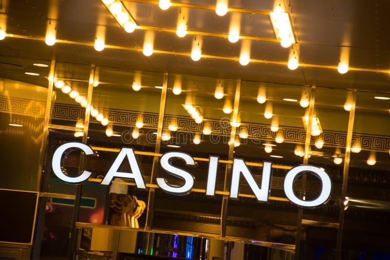 Casino fotos de archivo libres de regalías