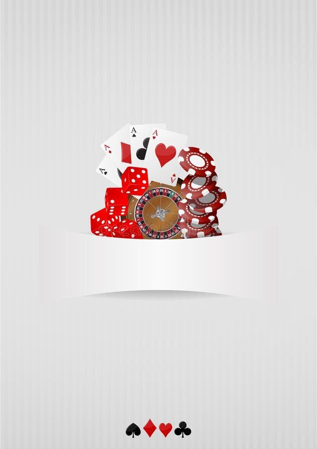 Casino stock illustratie