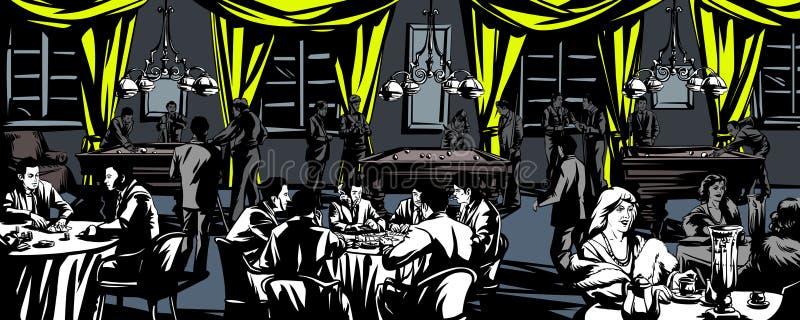 casino libre illustration