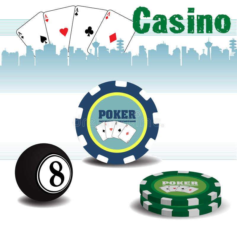 casino illustrazione di stock