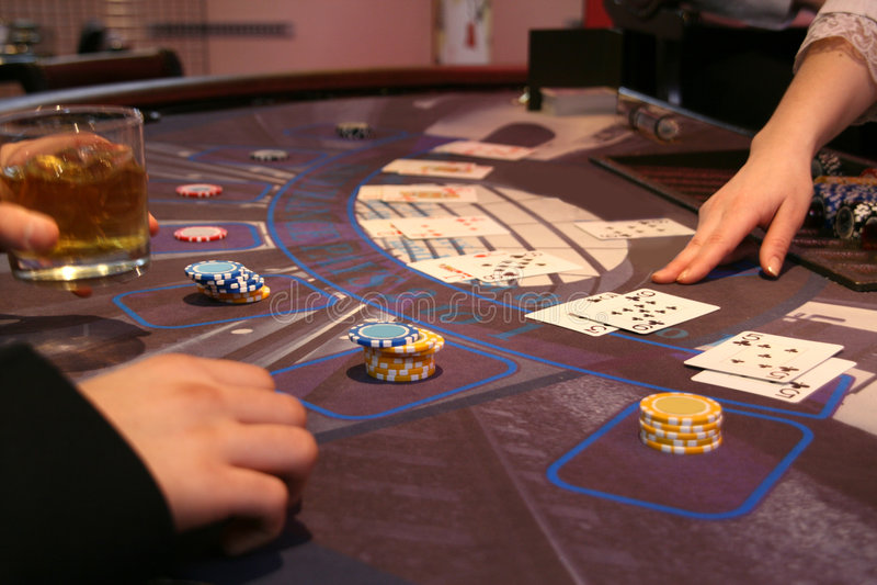 Casino royalty-vrije stock afbeelding