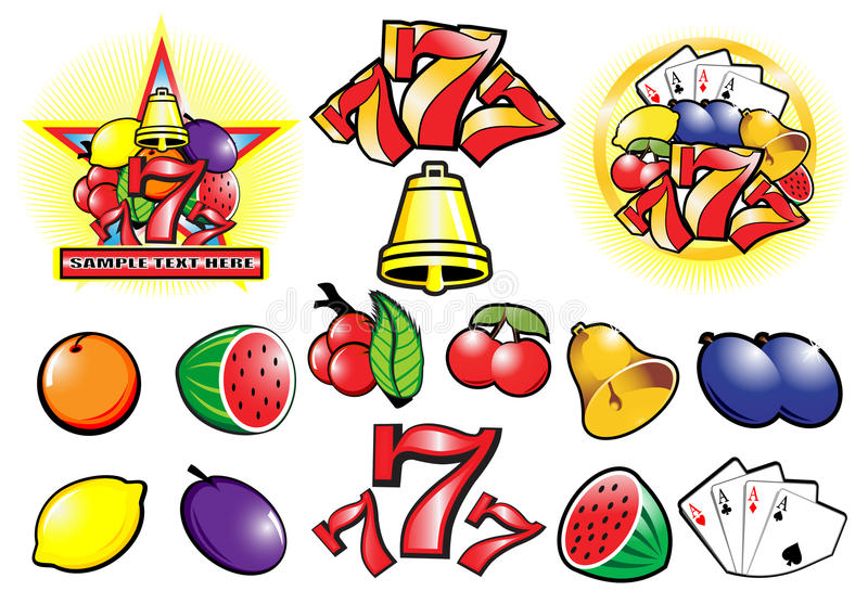 Casino stock de ilustración