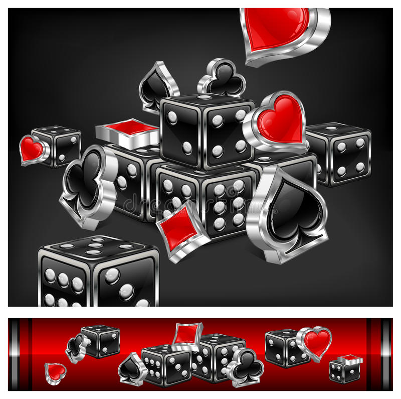 Free Casino Background Royalty Free Stock Photos - 24123178
