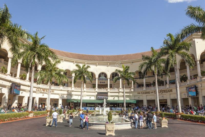 Casino bij het Gulfstream-Park, Florida royalty-vrije stock afbeeldingen