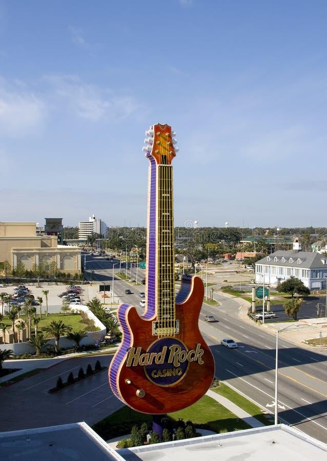 Casino Biloxi del hotel del rock duro foto de archivo libre de regalías